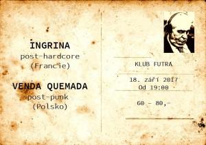 18.9.2017 - Ingrina /Fr/ + Venta Quemada /Pl/